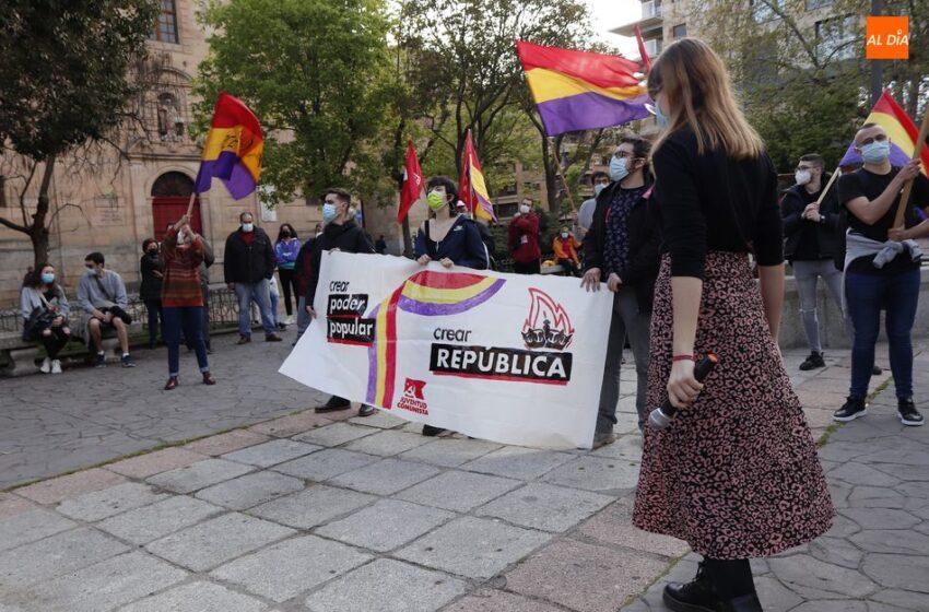 Concentración en Salamanca para reivindicar la tercera República