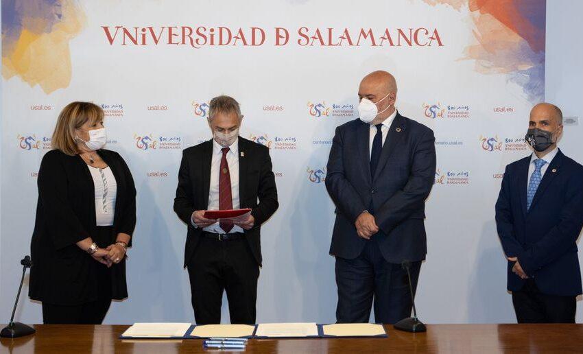 ENUSA y la Universidad de Salamanca unidos para la promoción de la investigación y la divulgación científico-cultural