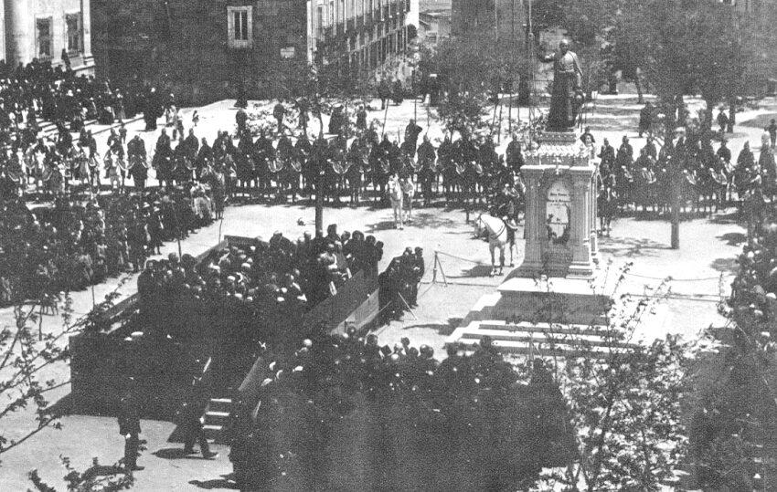 El homenaje al Padre Cámara en 1910