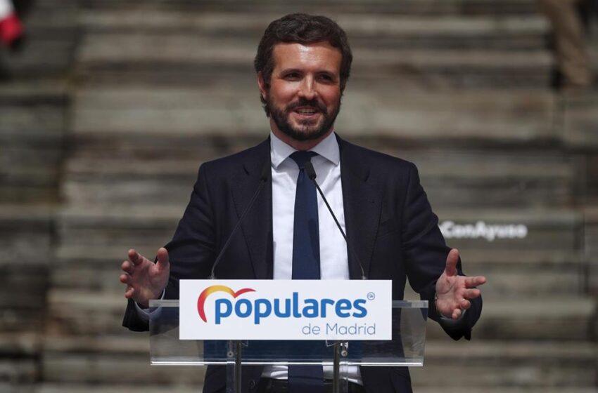 Casado critica que Sánchez se vaya a Ángola sin «dar la cara» cuando «se complica» la vacunación con AstraZeneca