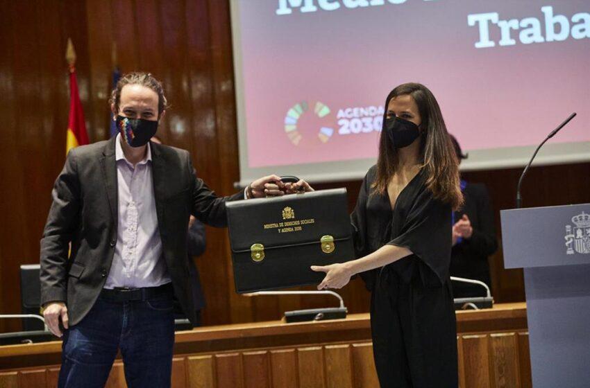 Iglesias pide la indemnización de 5.300 euros mensuales como exvicepresidente hasta que recaiga en Madrid