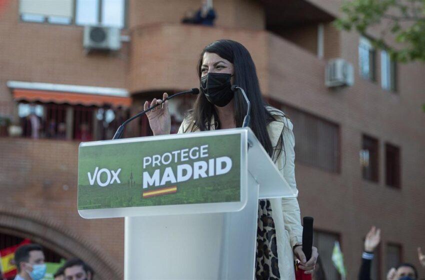 Olona dice que los manifestantes en el acto en Vallecas «buscaban un muerto» y acusa al Gobierno de alentar la violencia