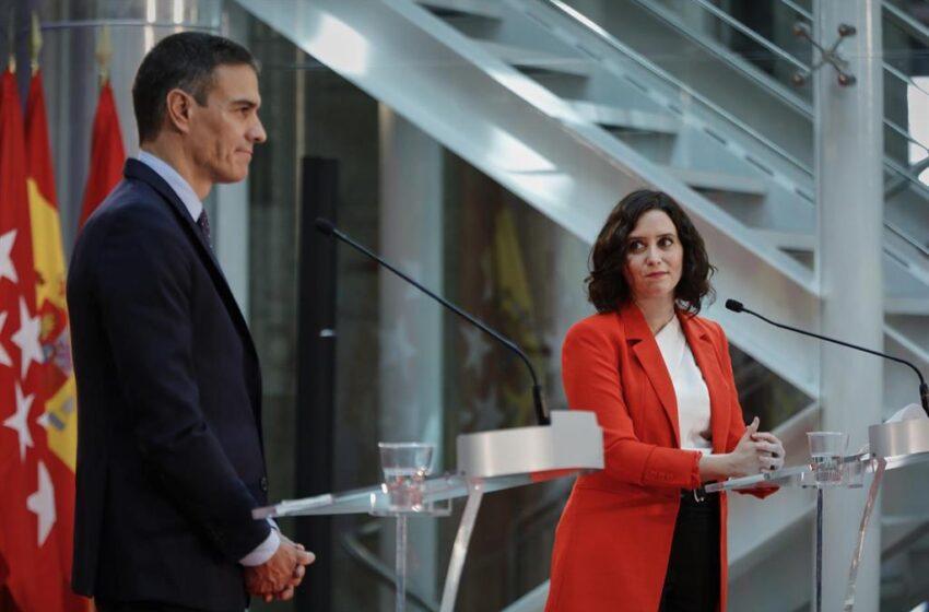 Ayuso no se callará ante las «gravísimas acusaciones» de Sánchez sobre los datos y le exige que pida disculpas