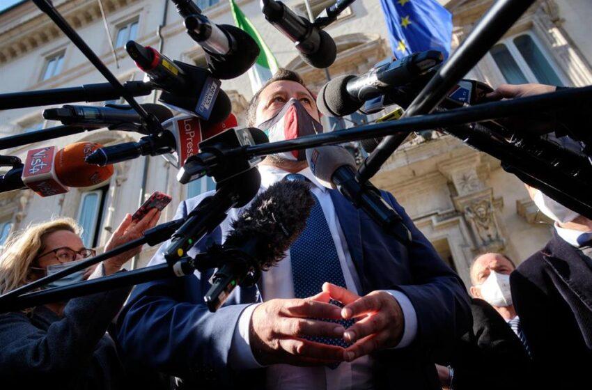 La Fiscalía italiana pide archivar el caso contra Salvini por impedir el desembarco de migrantes del Gregoretti