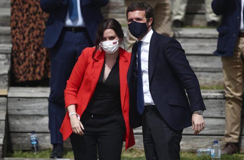 Casado se volcará en campaña con varios actos centrales con Ayuso para apelar al voto útil y contraatacar a Sánchez