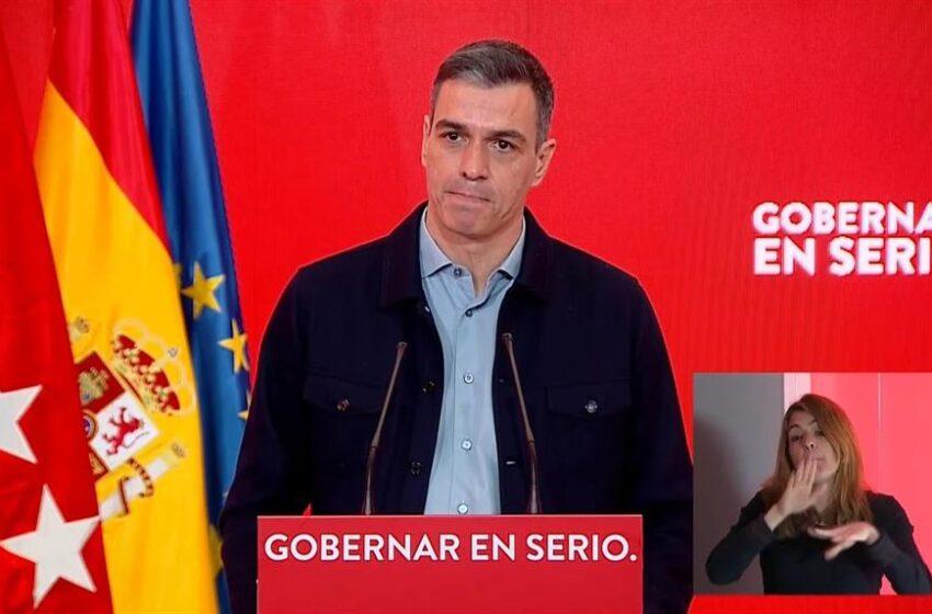 Sánchez acusa a la Comunidad de Madrid de «enredar y sembrar dudas» sobre la vacunación