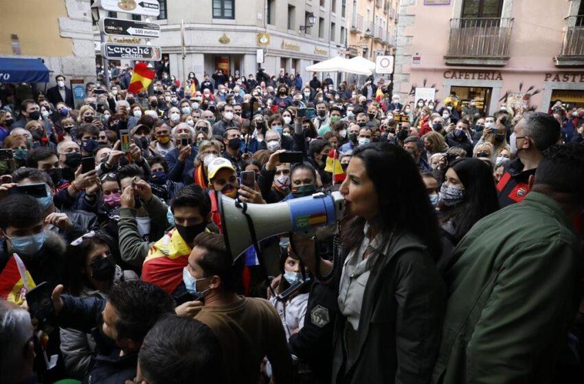 Vox se reivindica como el partido «de la calle» y carga contra el feminismo «de progres» que «olvida» a las mujeres