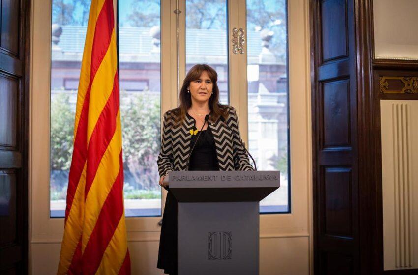 EL Supremo remite al TSJ de Cataluña la causa contra Laura Borrás tras su baja como diputada del Congreso