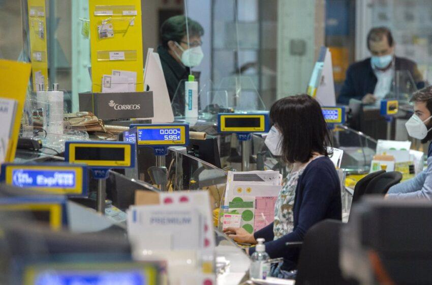 Correos regresa a resultados positivos con un beneficio de 4,7 millones en el primer trimestre