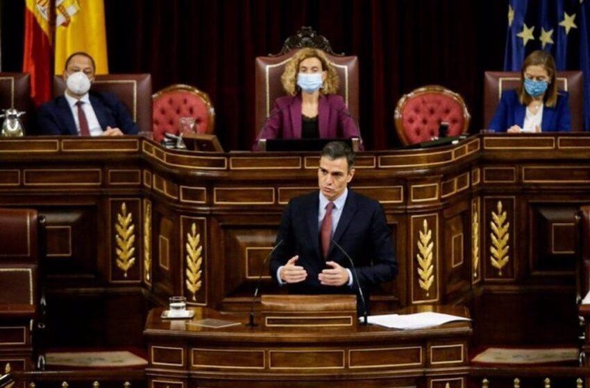 Sánchez rinde tributo a la II República y liga su proclamación con la Constitución de 1978 y la entrada en la UE