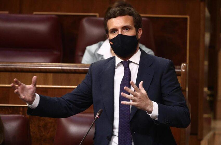 Génova augura a Sánchez un escenario similar al final de Zapatero y deberá elegir: «O sigue con Podemos o cumple con UE»