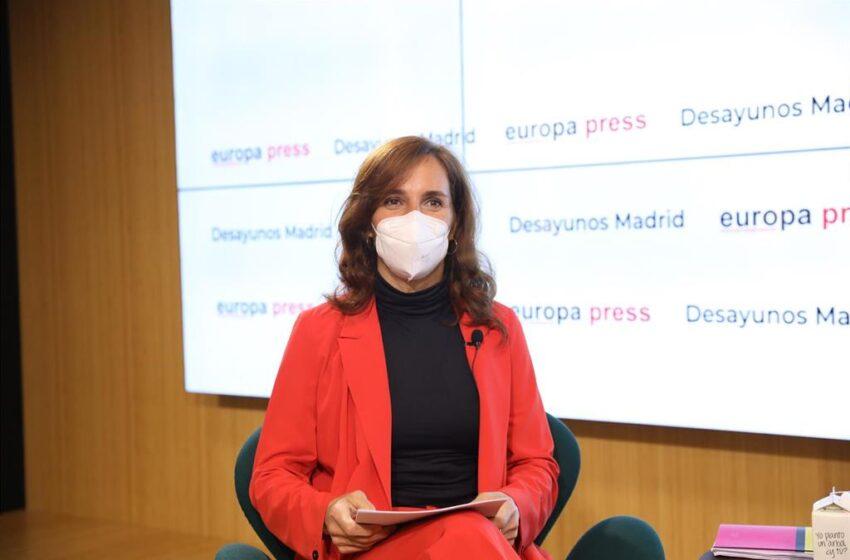 Mónica García anuncia la reconversión del Zendal en un 'health lab' siguiendo el modelo de Medialab-Prado