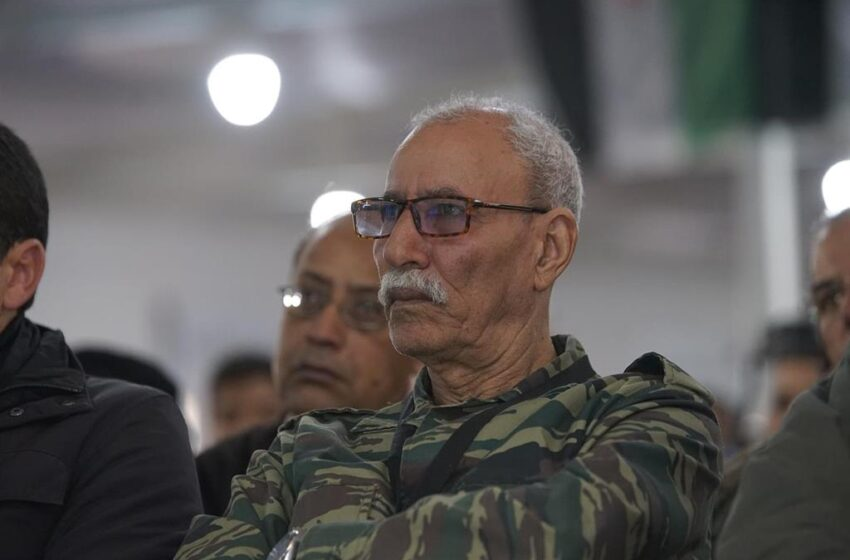 El líder del Frente Polisario, trasladado a España por «razones humanitarias»