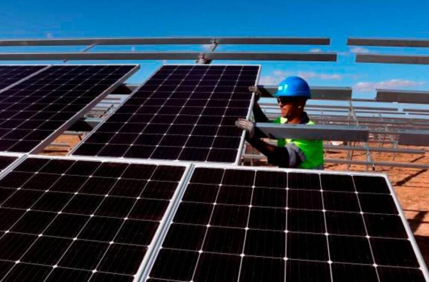 Así será la primera planta fotovoltaica de Peñaranda