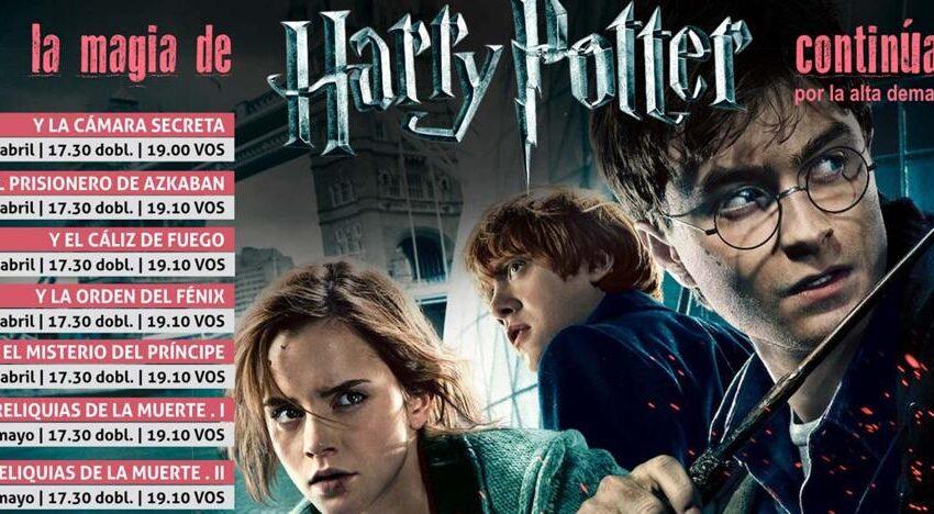 Los cines del Centro Comercial El Tormes vuelven a proyectar las películas de Harry Potter