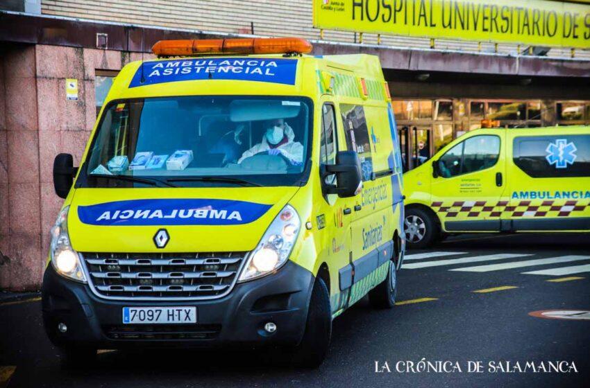 Colisionaron dos vehículos en la carretera de Madrid