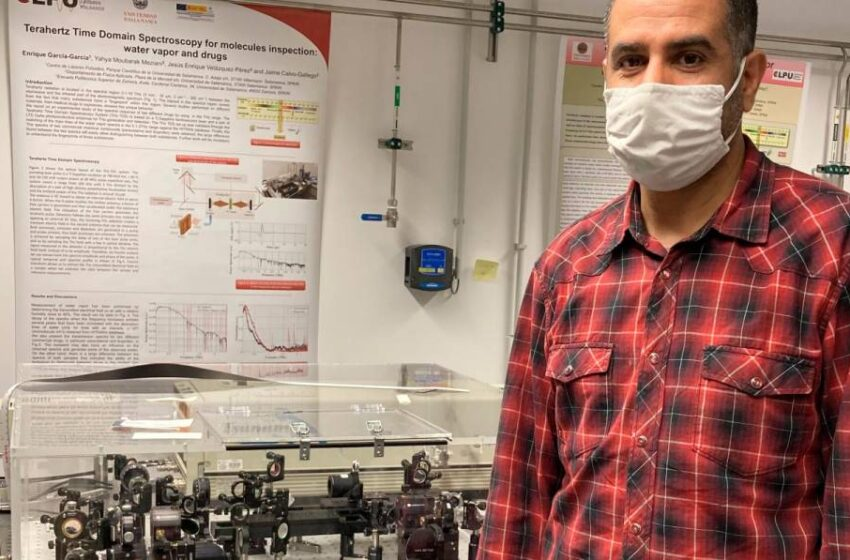 El innovador aparato para detectar objetos que ha llegado a Salamanca