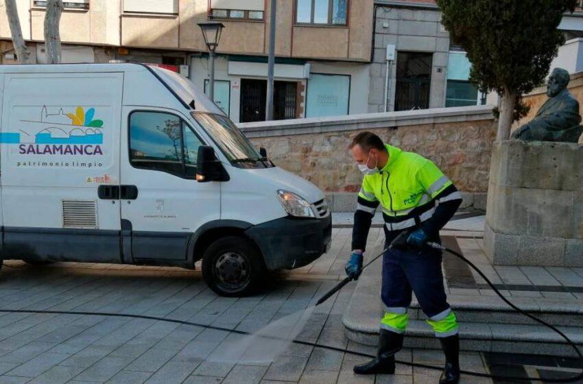 La mejor solución para mantener las calles de Salamanca limpias y seguras