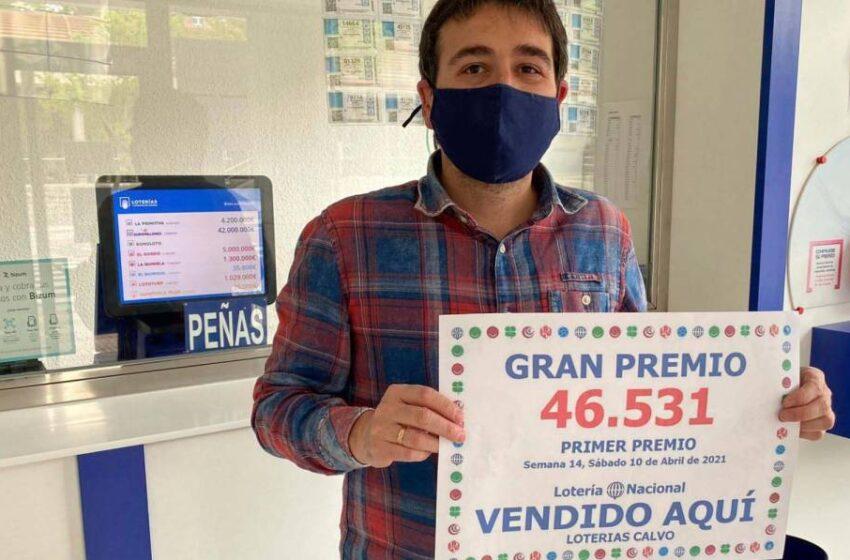 El primer y tercer premio de la Lotería Nacional dejan 315.000 euros en Salamanca