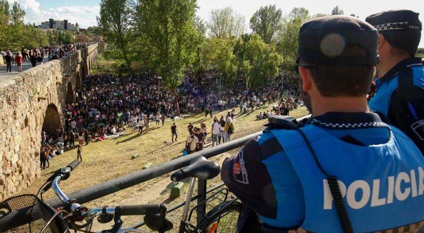 Más presencia policial el Lunes de Aguas y límite de cuatro personas por grupo