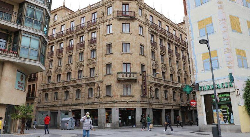 El hotel Monterrey de Salamanca se convertirá en pisos y un parking de cuatro plantas con 90 plazas