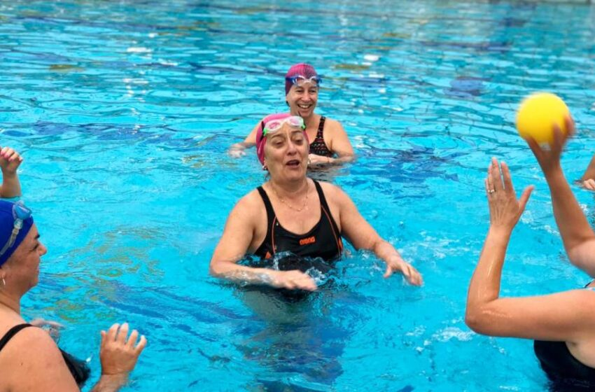 Los programas de natación y fitness para estar en forma de las piscinas de Salamanca