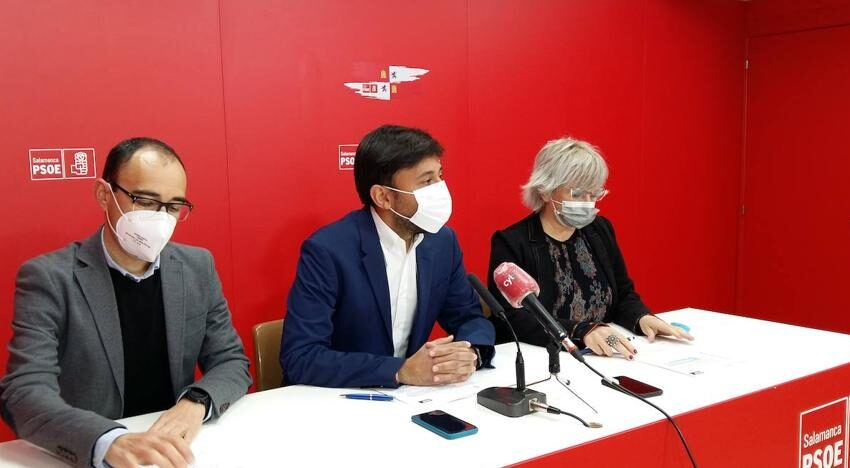 El PSOE de Salamanca afirma que «el esfuerzo para proteger a empresas, trabajadores y autónomos es firme»