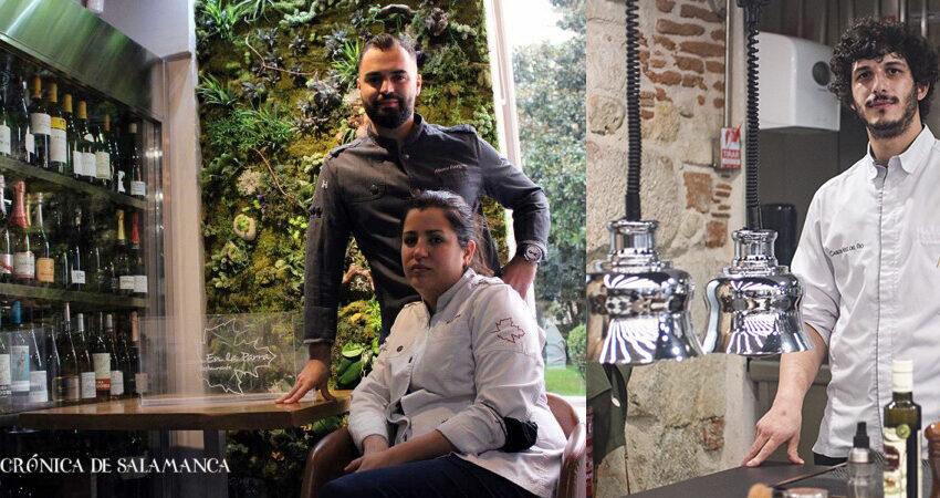 Carlos Hernández del Río, del restaurante ConSentido, y Rocío Parra, de En la Parra, han sido los cocineros premiados con esta distinción