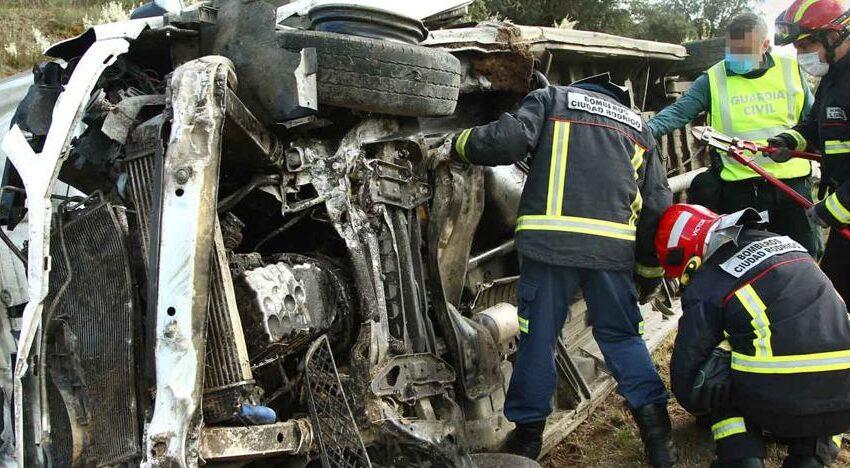 Cinco heridos en cuatro accidentes de tráfico en distintos puntos de la provincia de Salamanca