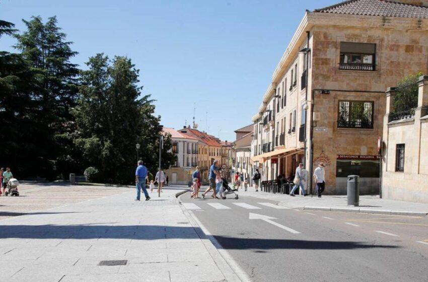 Detenido en pleno centro de Salamanca por llevar un coche que había sido denunciado en Madrid como sustraído