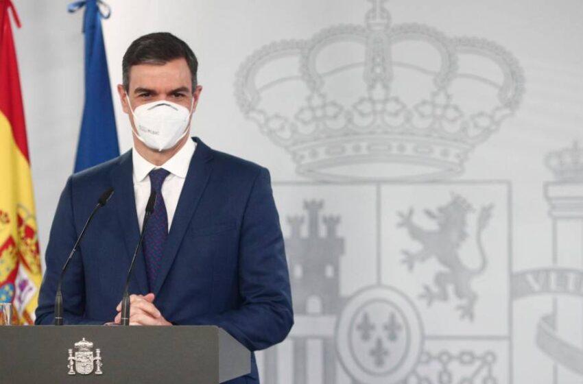 """Sánchez asegura que vienen """"semanas complicadas"""" pero insiste en que levantará el estado de alarma el 9 de mayo"""