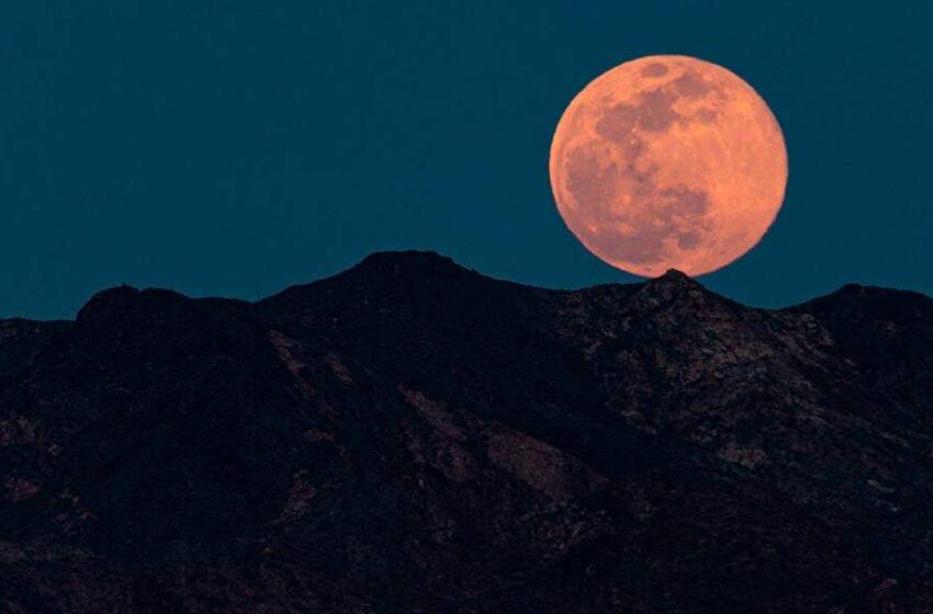 Cómo ver esta noche la luna más 'grande' de todo el año