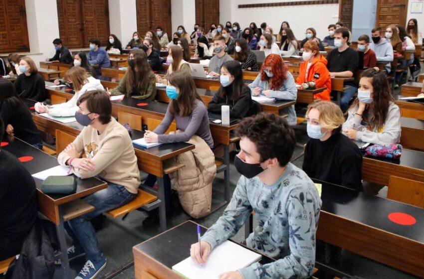 Se disparan las anulaciones de matrícula en la Universidad de Salamanca por la covid