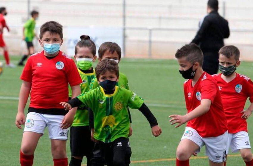 Las mejores imágenes del regreso del fútbol base en Salamanca