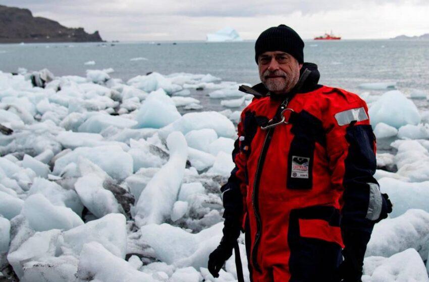 """José Abel Flores, de Salamanca a la Antártida: """"Para el cambio climático no hay vacuna, no se puede revertir, solo ralentizar"""""""