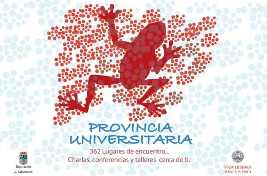 El programa Provincia Universitaria llega este año a 72 municipios con más de 530 charlas