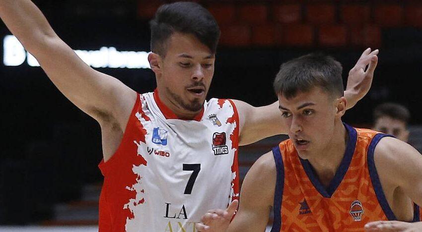 Despedida con buen sabor de boca para el Usal La Antigua con derrota final ante el ascendido Valencia Basket (91-89)