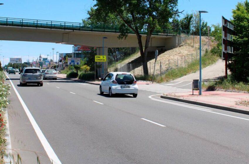 Nuevo tramo de carril bici que une la Vía Verde con Santa Marta