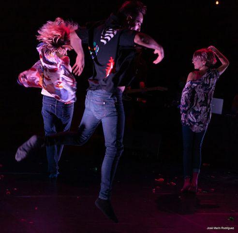 Ladyfunta estará en el teatro Almargen el sábado 12 a las 20.30 horas con la obra y el domingo 13 a las 11.00 horas organiza un taller de danza-improvisación