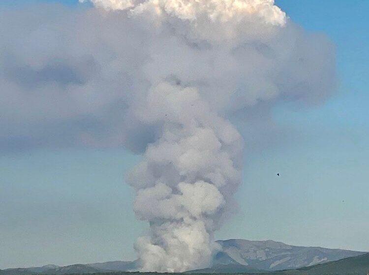 Nivel 1 en un incendio en Serradilla del Arroyo, en la provincia de Salamanca