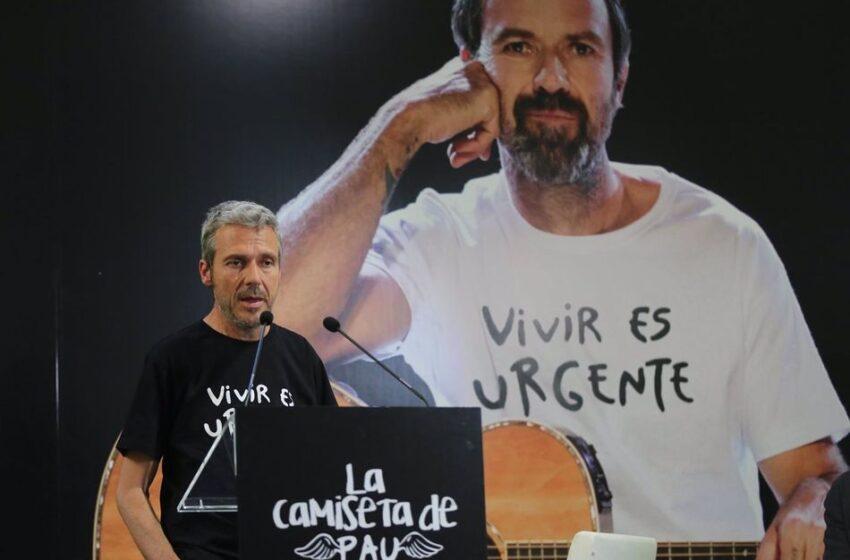 'La camiseta de Pau', el mejor tributo a Pau Donés con fines solidarios en su primer aniversario de muerte