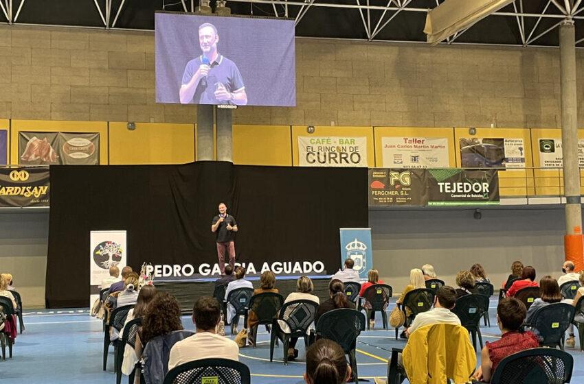 Pedro Martín Aguado, el 'Hermano Mayor', en Guijuelo