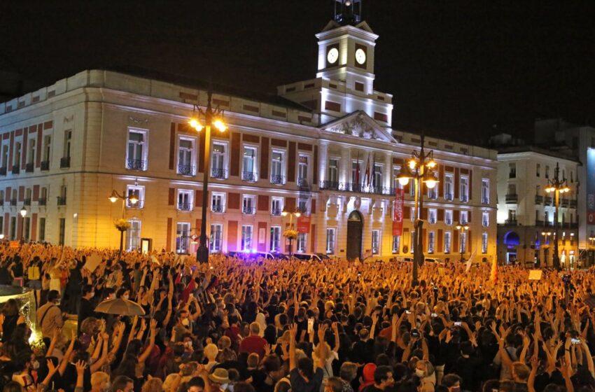 Miles de personas se manifiestan en distintas ciudades españolas ante los últimos casos de violencia machista