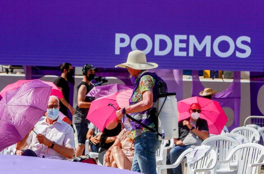 Cerca de 53.000 inscritos han votado para elegir al nuevo líder de Podemos, participación muy próxima a Vistalegre 3