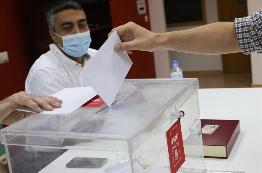 La participación en las primarias del PSOE-A roza el 47% a las 14 horas