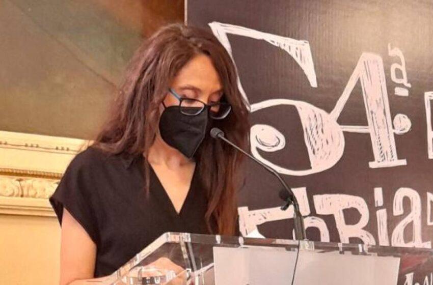 La salmantina que ha recibido este sábado el Premio de la Crítica de Castilla y León