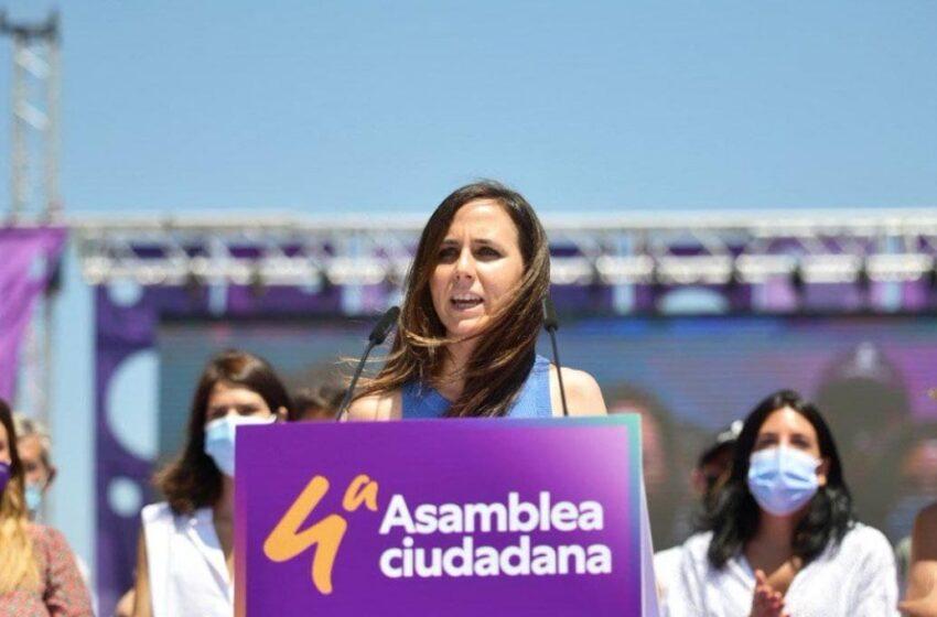 Ione Belarra sustituye a Pablo Iglesias al frente de Podemos