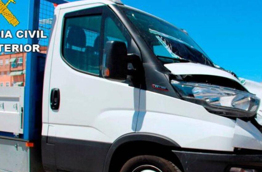 Localizan al autor del atropello mortal a un camionero salmantino en Guadarrama