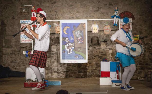 Actuación de Chorpatélicos