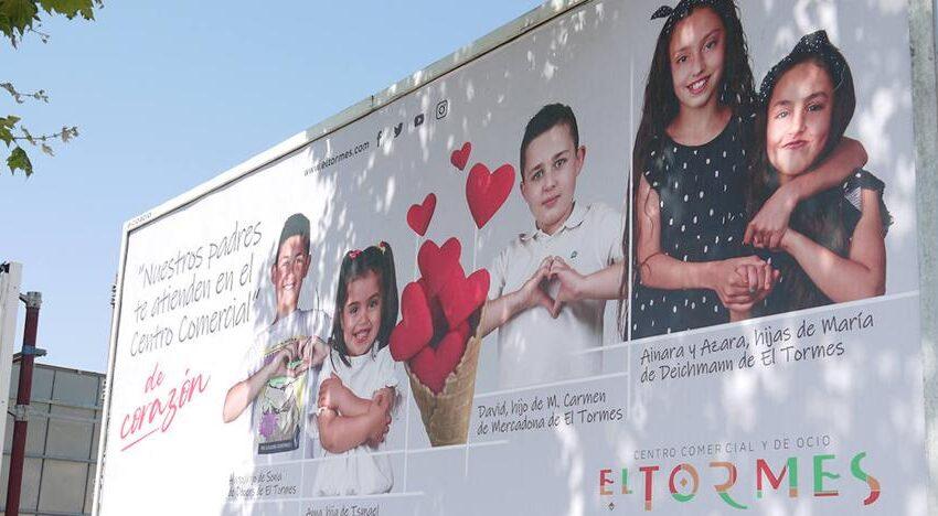 Los hijos de los trabajadores de El Tormes, protagonistas de nuevo de una campaña del Centro Comercial